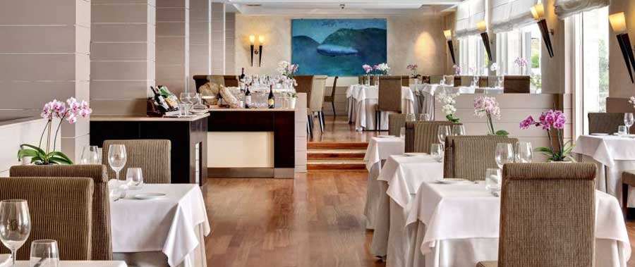 Il Ristorante all'interno del Terme di Saturnia Spa & Golf Resort